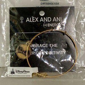 Alex & Ani MICKEY EAR HAT Icon Charm BRACELET Gold